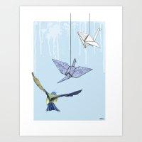 Birds #3 Art Print