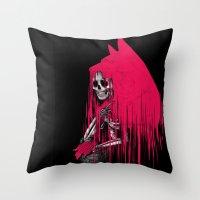 She's Dead Throw Pillow