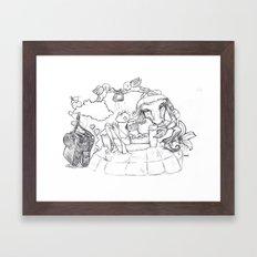 Lauri Framed Art Print