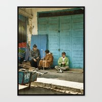 North African Tea Time Canvas Print