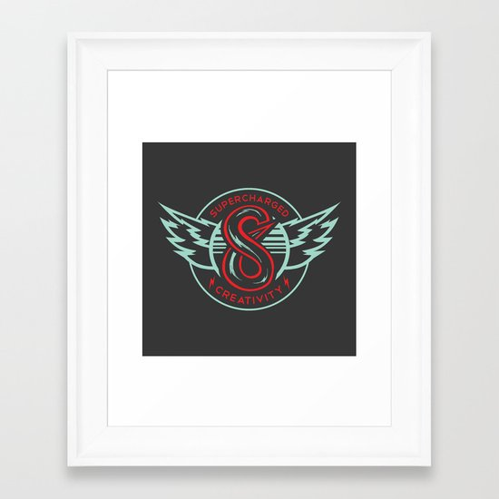 S6 Supercharged Framed Art Print