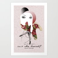 Isn't She Lovely Art Print