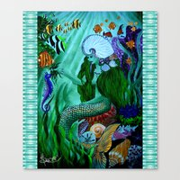 Little Mermaid. Canvas Print