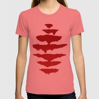 Seven Womens Fitted Tee Pomegranate SMALL