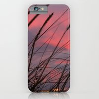 iPhone & iPod Case featuring Sunset through the Reeds by Right As Rain