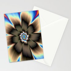 Dark Daisy Stationery Cards