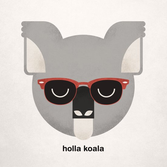 Holla Koala Canvas Print