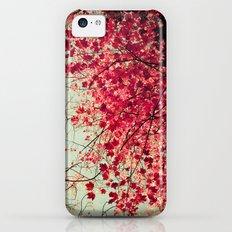 Autumn Inkblot iPhone 5c Slim Case