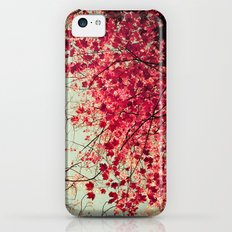 Autumn Inkblot iPhone 5c Slim Case