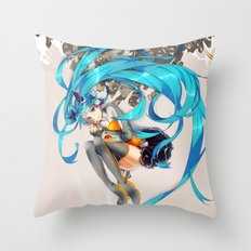 I'M HERE FOR YOU - Hatsune Miku Odds&Ends Ryo Supercell Throw Pillow