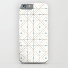 Mint Diamonds Slim Case iPhone 6s