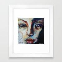 Face 2 Framed Art Print