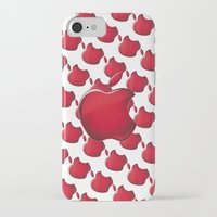 apple iPhone & iPod Cases featuring Apple by JT Digital Art