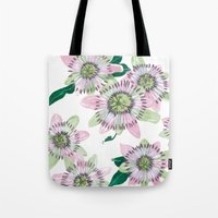 Passion Flower Tote Bag