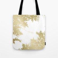 Night's Sky Gold Tote Bag