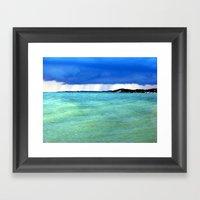 Lake Michigan Framed Art Print