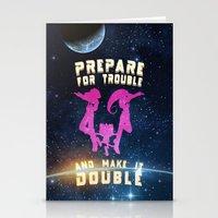 Team Rocket Galaxy (Poke… Stationery Cards