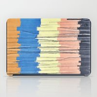 Textured Stripes Abstract iPad Case