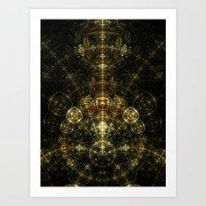 Matrix Art Print