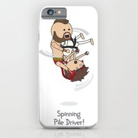 Spinning Pile Driver iPhone 6 Slim Case