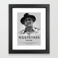 The Godfather - Part One Framed Art Print