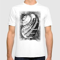 Snail Mens Fitted Tee White SMALL