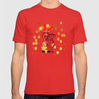 Beste Freunde - best friends Mens Fitted Tee Red SMALL