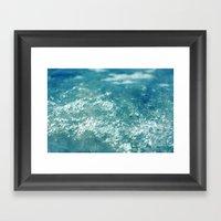 ocean 857 Framed Art Print
