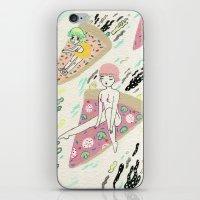 Pizza Riders iPhone & iPod Skin