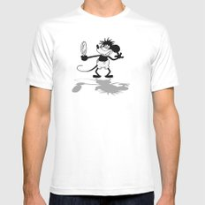 Sexy and I Know It SMALL White Mens Fitted Tee
