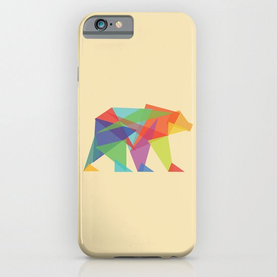 Fractal Geometric bear iPhone & iPod Case