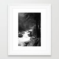 Whiteout Yosemite-2 Framed Art Print