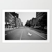 Get On Down The Road Art Print
