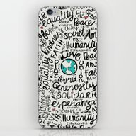 Positive Messages iPhone & iPod Skin