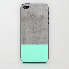 Sea on Concrete iPhone & iPod Skin