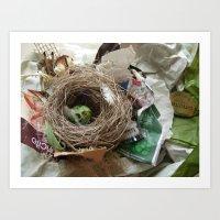 Urban Nests   01 Art Print