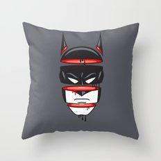 Defrag Man Throw Pillow