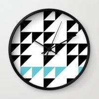 Tri Pixel Wall Clock