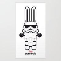 Sr. Trolo / Stormtropper Art Print