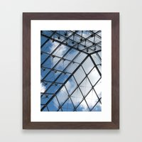 Through The Pyramid Framed Art Print
