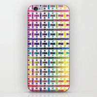 Stripes In Colours iPhone & iPod Skin