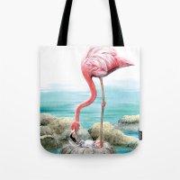 Fenicotteri Rosa Tote Bag