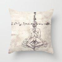 Tarot: V - The Hierophan… Throw Pillow