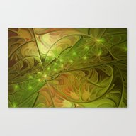 Hope, Abstract Fractal A… Canvas Print