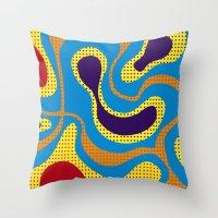 Carnival, Colorful Brazi… Throw Pillow