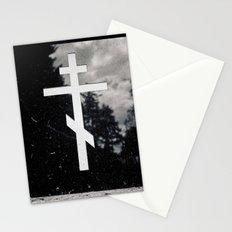 Orthodox headstone Stationery Cards