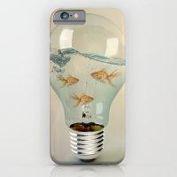ideas and goldfish 03 iPhone 6 Slim Case