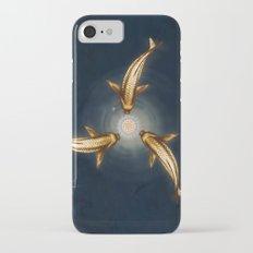 Golden Koi and Lotus iPhone 7 Slim Case