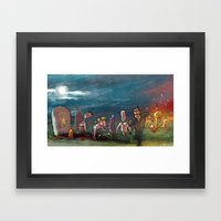 Adventure Game Revival Framed Art Print
