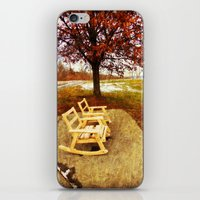 Come Sit, Stay Awhile... iPhone & iPod Skin